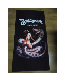 Whitesnake  - Lovehunter  Beach Towel
